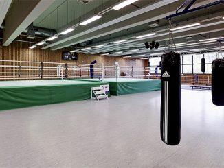 Boxhalle der Sportschule Hennef