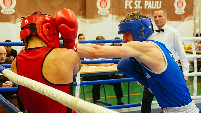FC St. pauli Boxen Ewen Riley