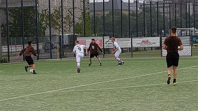 Mannschaft Boxer FC St. Pauli
