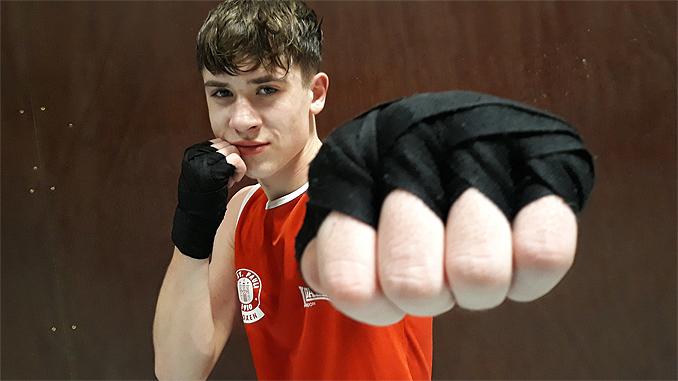 Boxer Gregor Zwimpfer FC St. Pauli